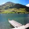 A panorama of Lake Davos thumbnail