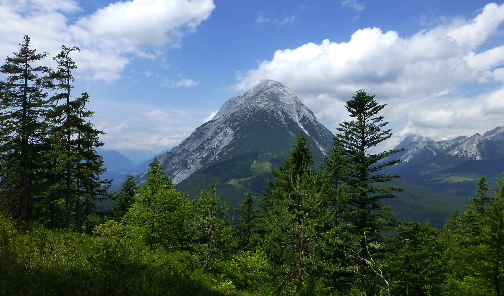 View of the Hohe Munde