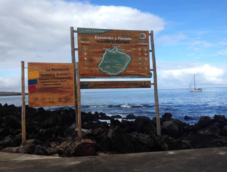 We went to Floreana Island today