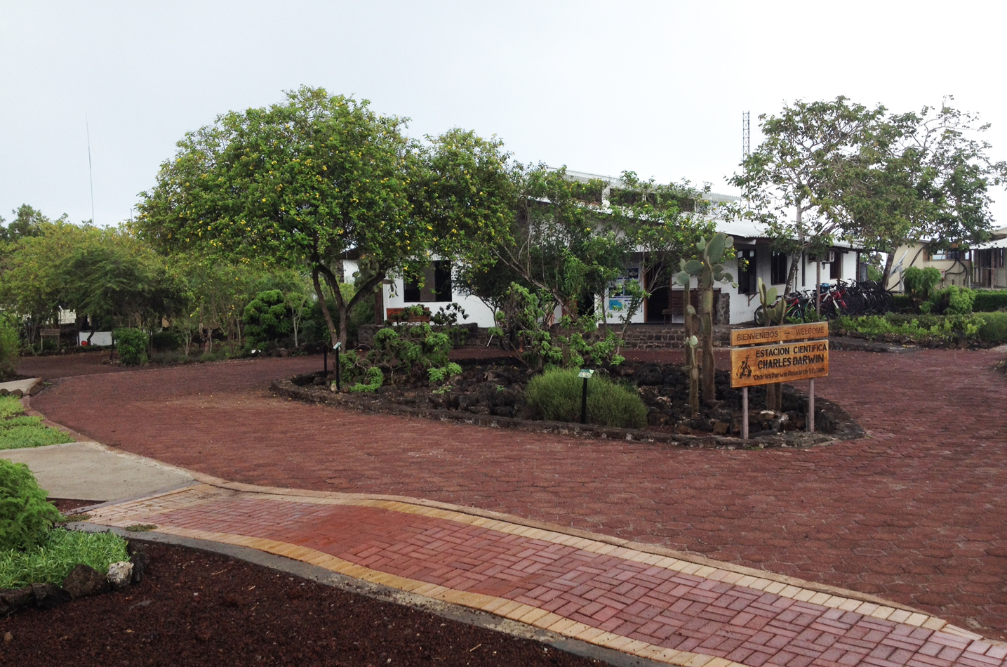 At the Darwin Research Center